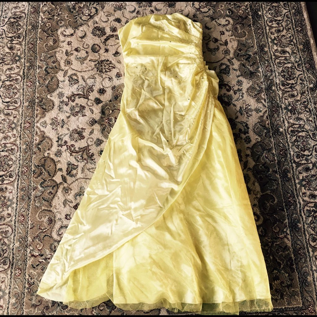 Yellow prom dress prom and products