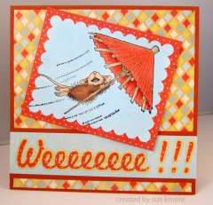 """Weeeeeee!!!!"" by Sue Kment on House-Mouse Designs®"
