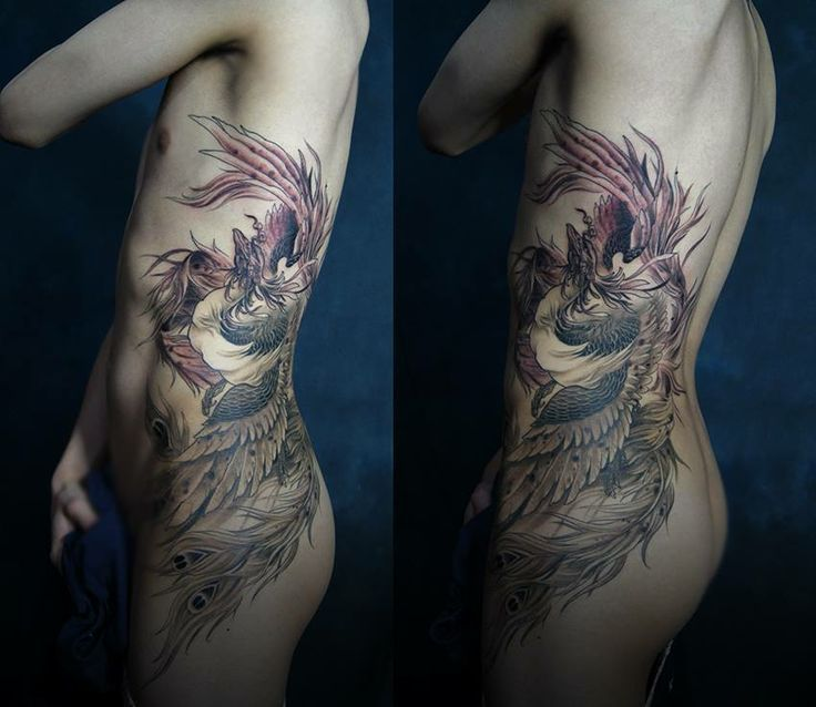 phoenix tattoo ribs - Google Search