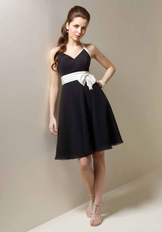 Bridesmaid Dresses By Color Black