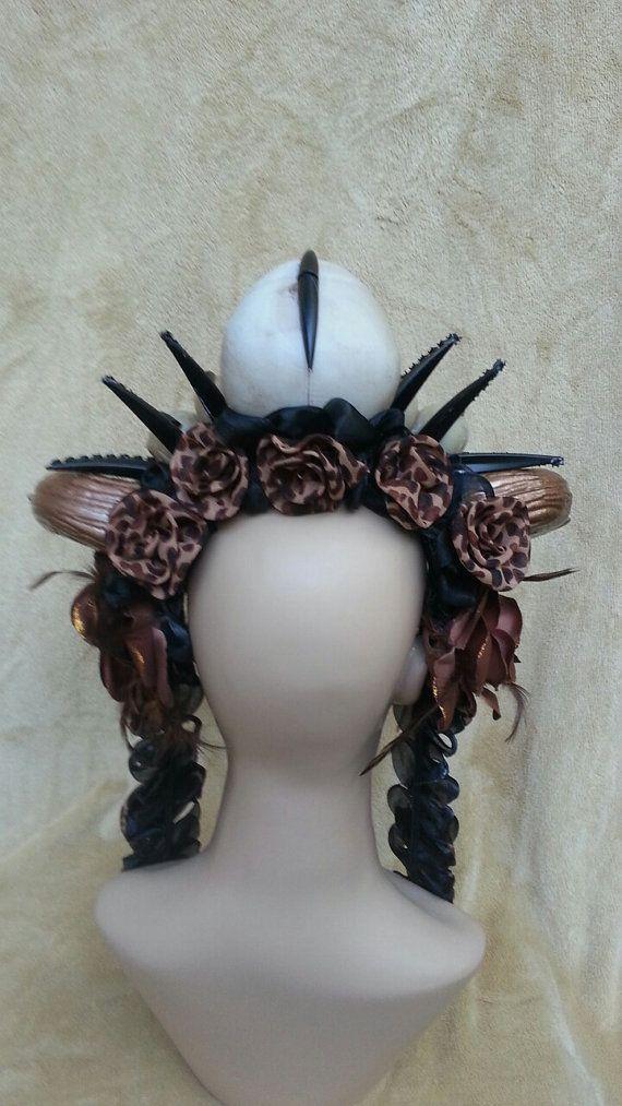 READY TO SHIP - Voodoo Headdress   Headdress, Voodoo art