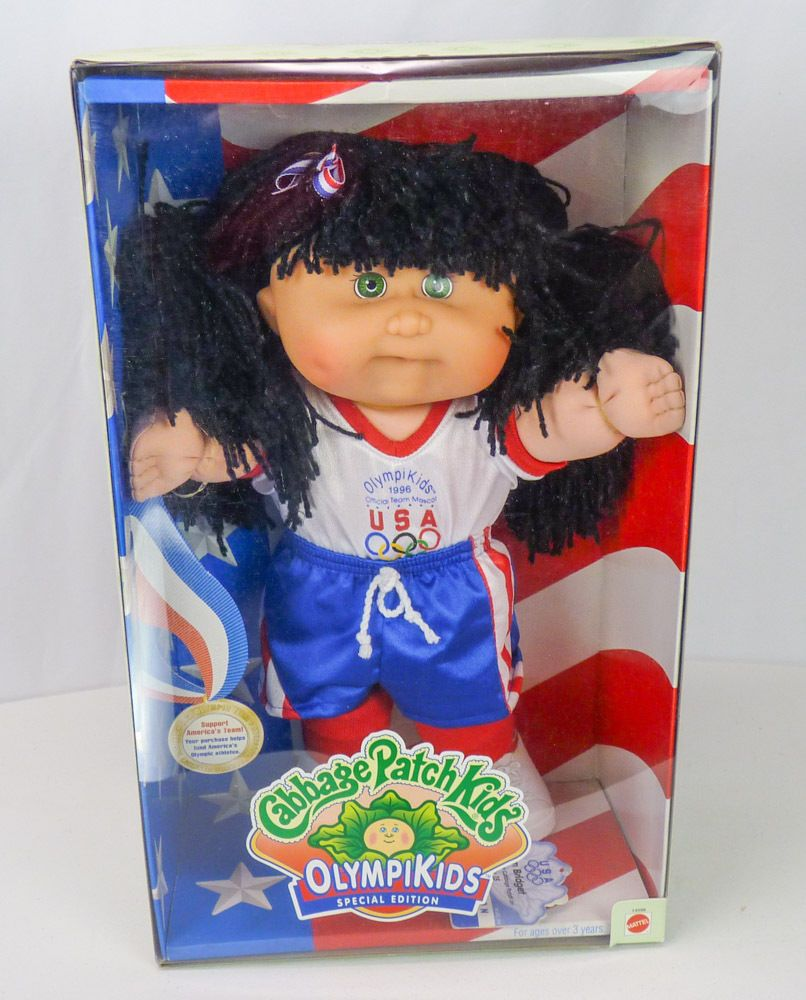 NEW Vtg Cabbage Patch Kids Olympikids 1996 Olympics Soccer Girl Doll Black  Hair #CabbagePatchKids #DollswithC… | Cabbage patch kids, Cabbage patch  dolls, Girl dolls