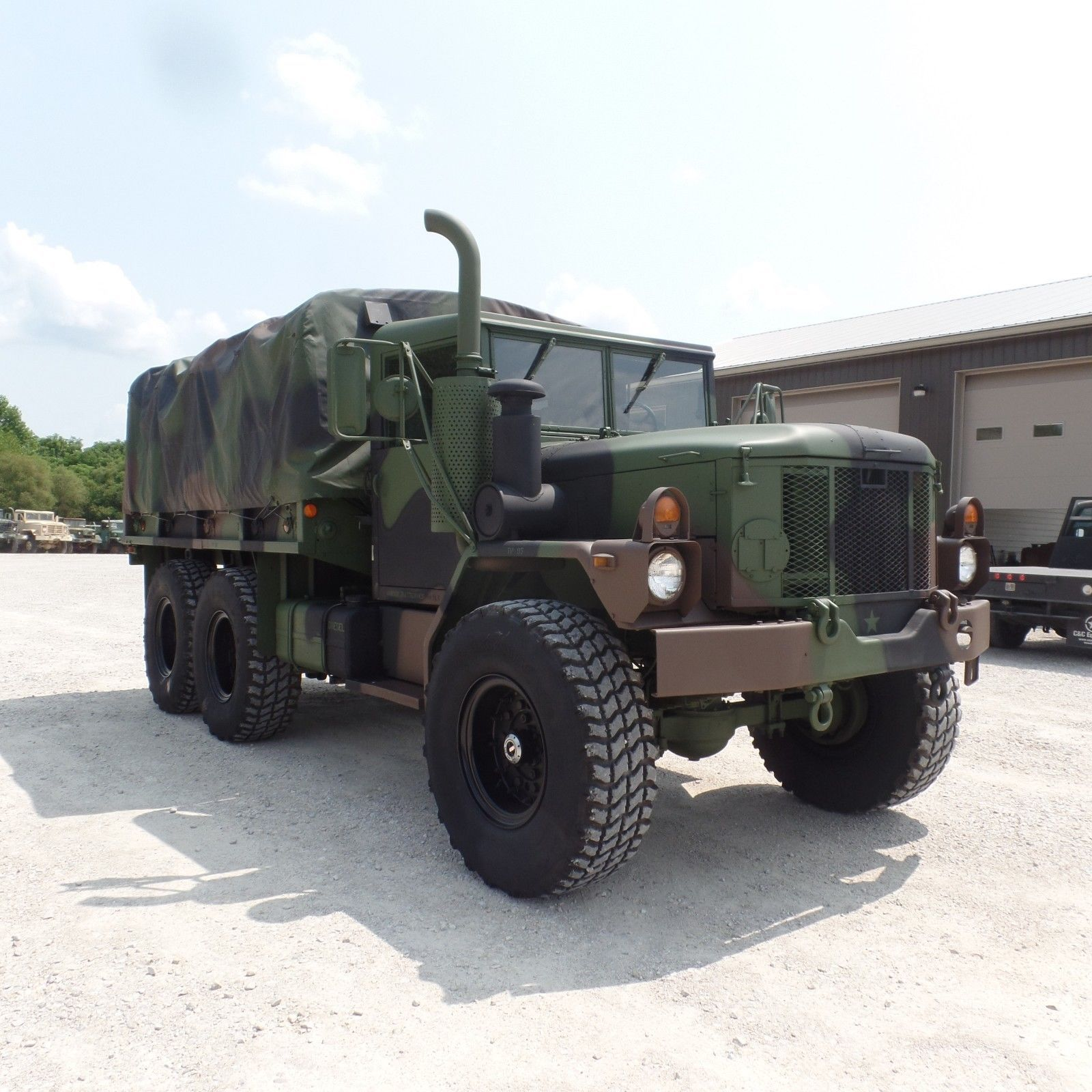 Lots Of Extras 1996 Am General M35a3 Military Cargo Truck Us