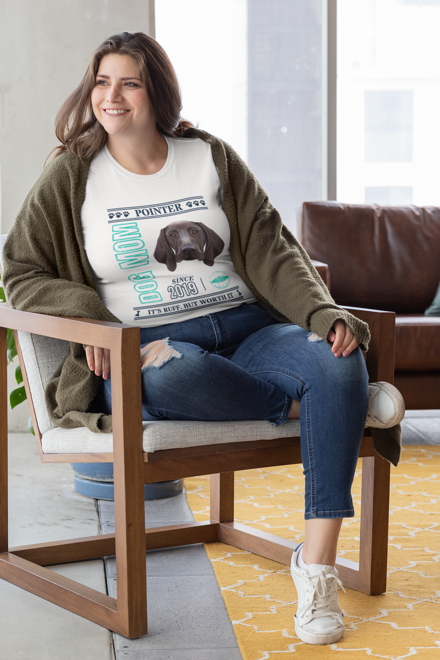 Personalized this tee with the year since you own a Pointer and a custom message. 😘 . . . #pointerpuppy #pointersofinstagram #germanpointer #gsplife #gspoftheday #germanshorthairedpointer #vizslapuppy #hungarianvizsla #vizslagram #pointerdog #pointerdoglove #pointerdogs #pointers #dogquotes #dogsofig #pointeroftheday #pointerdog #pointerdogs #pointermom #pointermoms #pointermommy