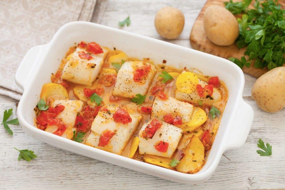 Baccalà al forno Italienische Speisen Pinterest Codfish and - italienische küche rezepte
