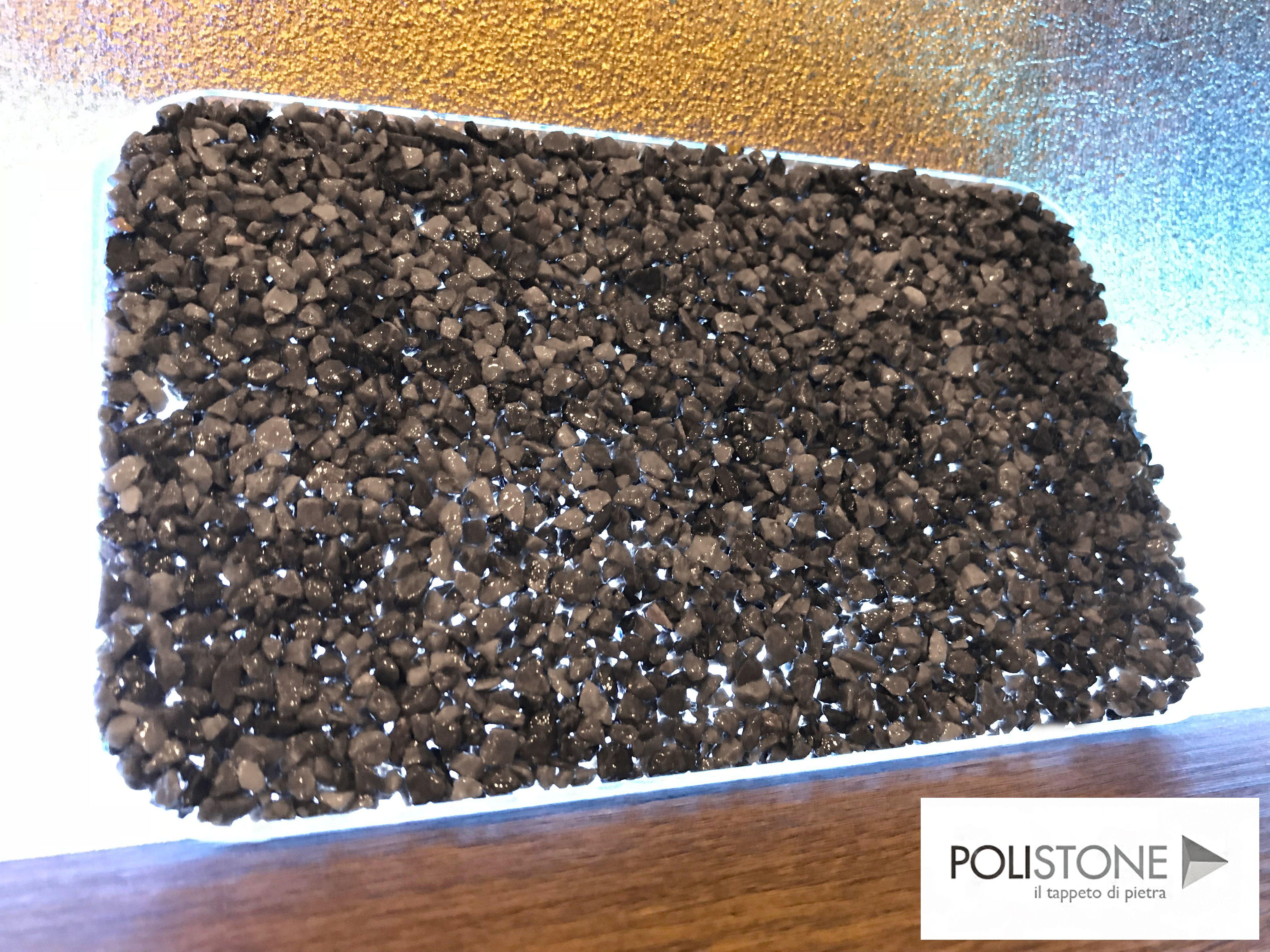 Pavimentazione Drenante Da Giardino : Resin bound campione color grigio cenere pavimentazione in