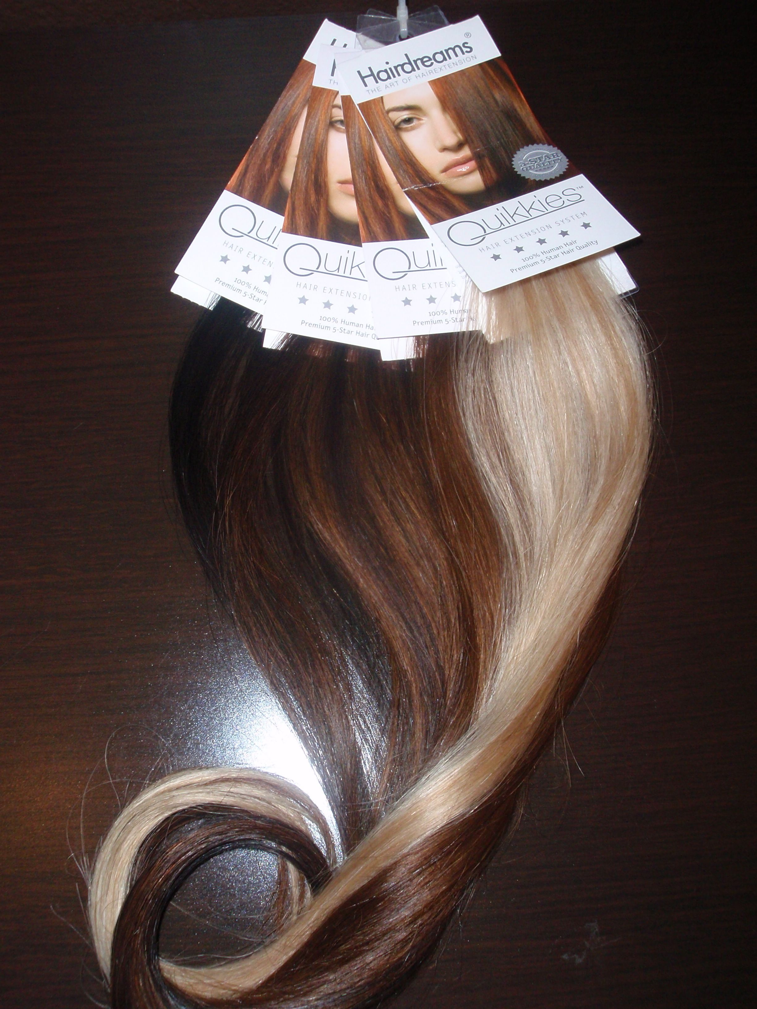 Quick Easy Volume And Length With Hairdreams Quikkies Taped In