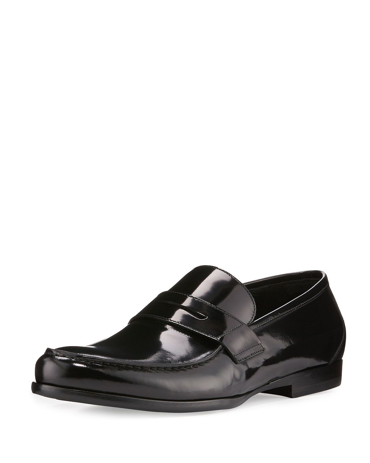 997311a2b69 James Gloss Calf Leather Penny Loafer