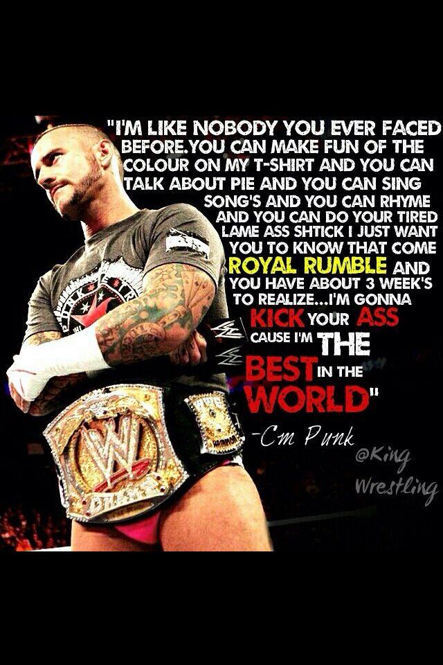 CM Punk Pipebomb on The Rock