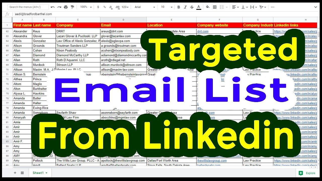 How to Get Email From Linkedin Extract Email Address