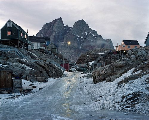 Uummannaq, West Greenland by Sébastien Tixier, via Flickr