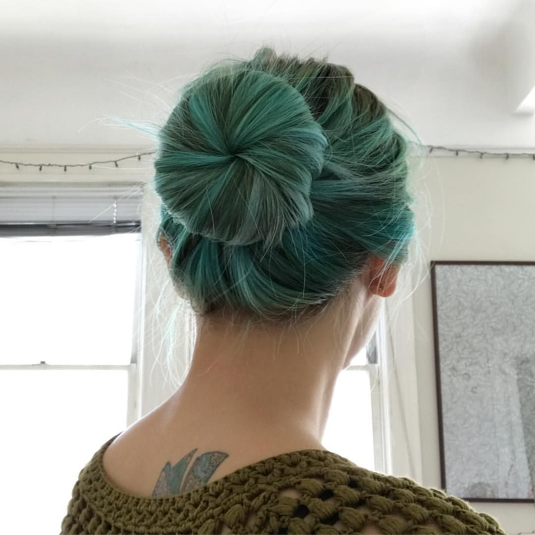 First Time Using A Bun Donut To Do An Updo Super Quick And Easy