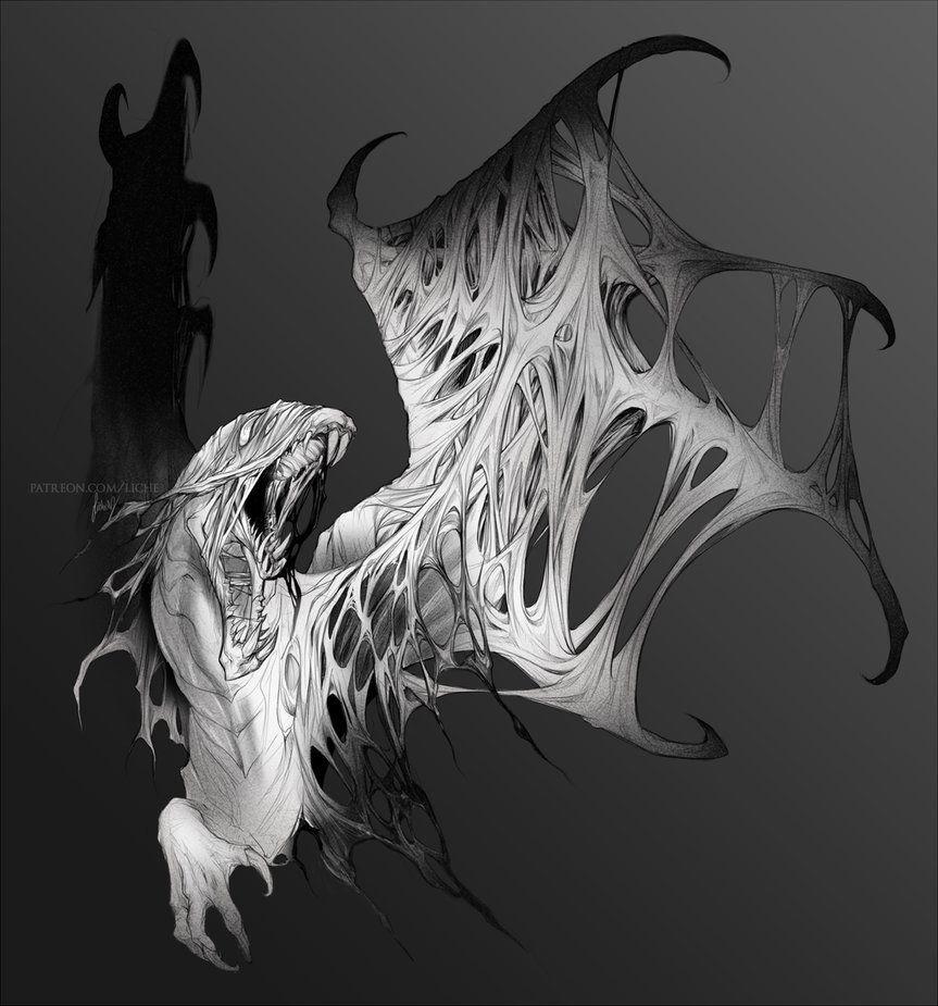 Vaal Hazak By Lichearts Monster Hunter Series Monster Hunter Art Monster Hunter World