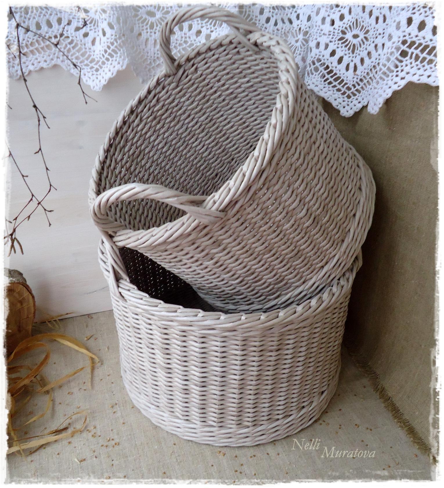 Плетение из газеты своими руками фото 189
