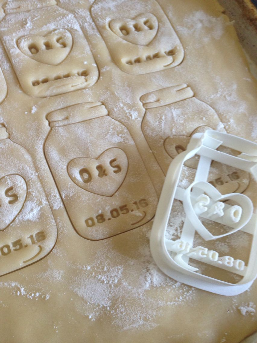 Ordered this cookie cutter off of etsy! Great favor for engagement party/bridal shower. Absolutely loved it!