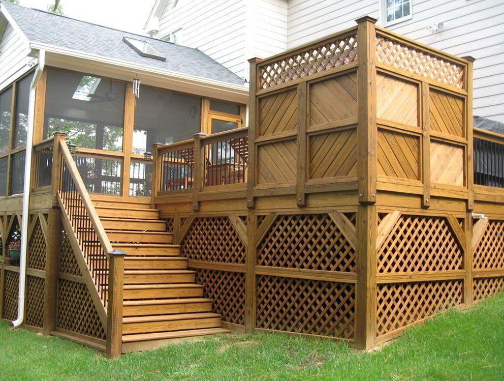 small decks | Small Front Deck Ideas | Home Design Ideas ...