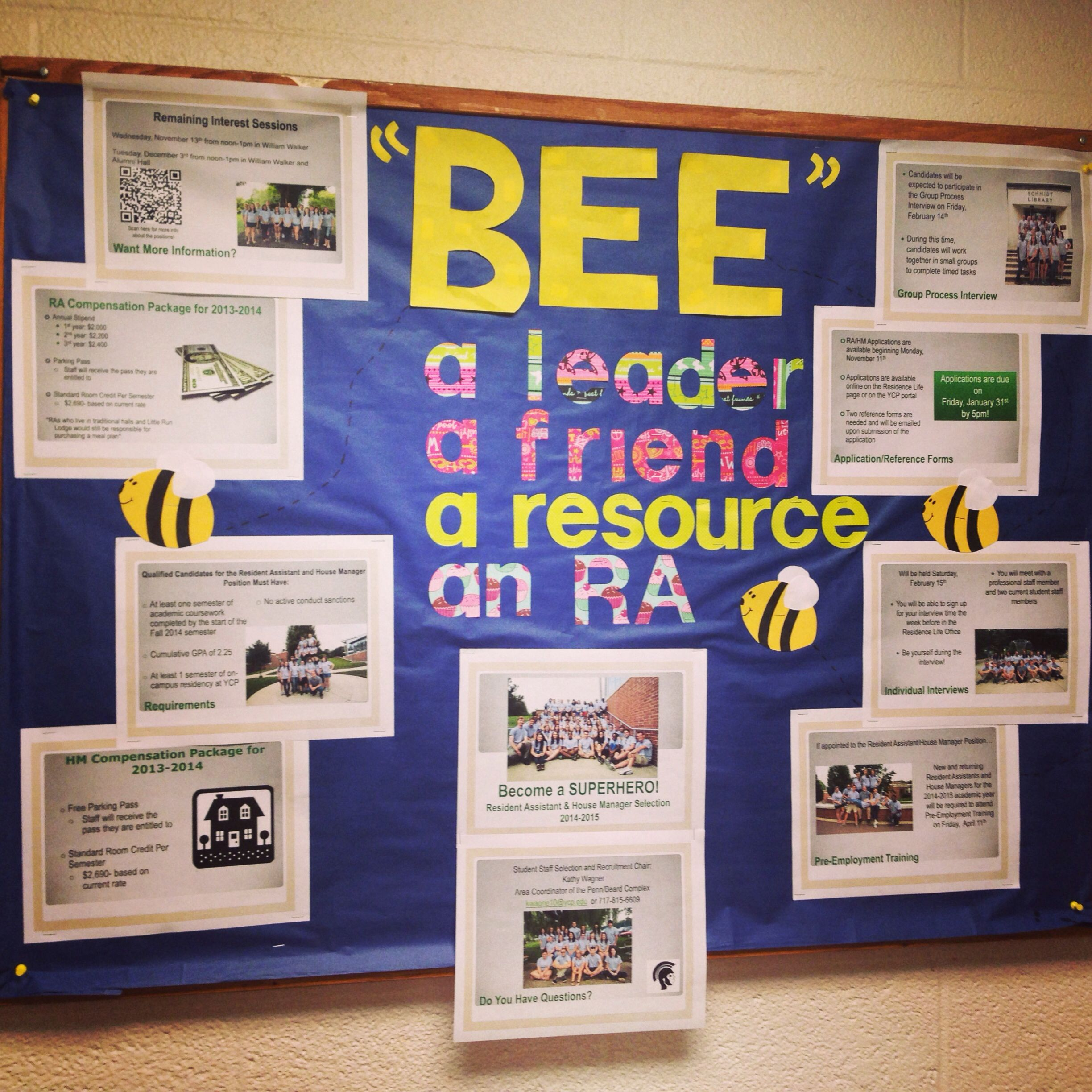 RA Recruitment Bulletin Board!