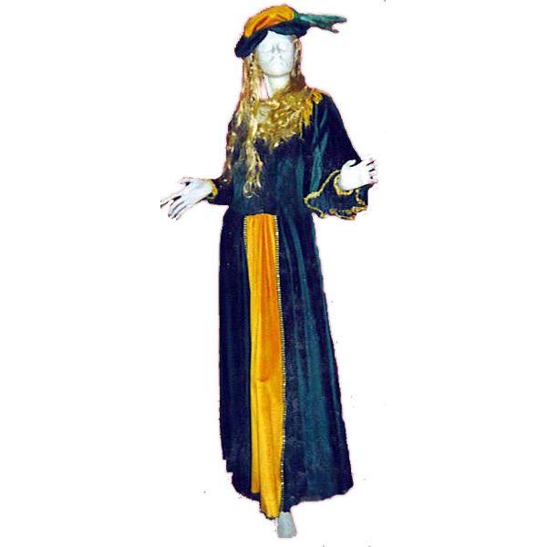 Mathilde code produit : 943-089 2 pièces : Robe et Coiffe.Taille(s) : 40