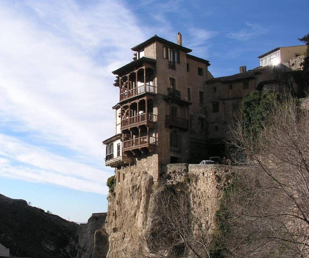 Spains Hanging House Cuenca Cuenca Spain Spain