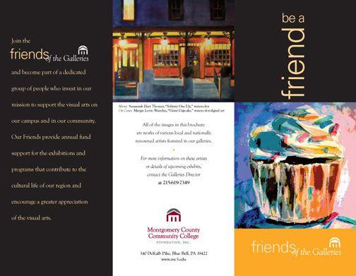 Brochure Design Montgomery County Community College Blue Bell Pa Brochure Design Brochure Booklet