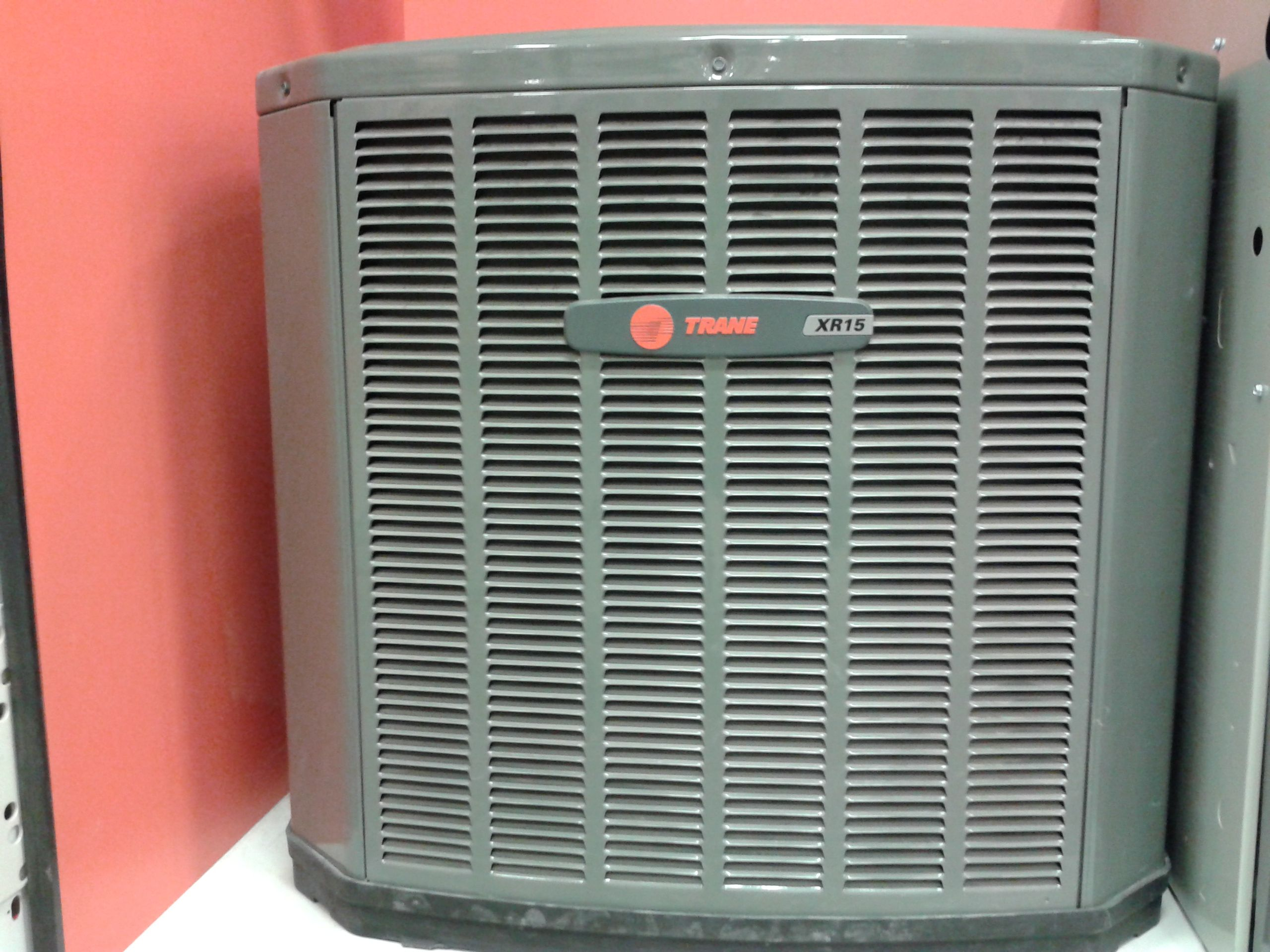 1 brand Trane highefficiency AC working perfect for