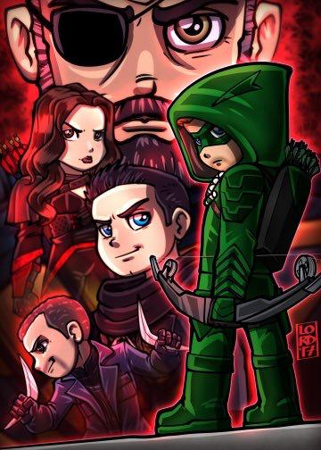 Arrow - Season 5 episode 21 | ARROW | Lord mesa art, Arrow