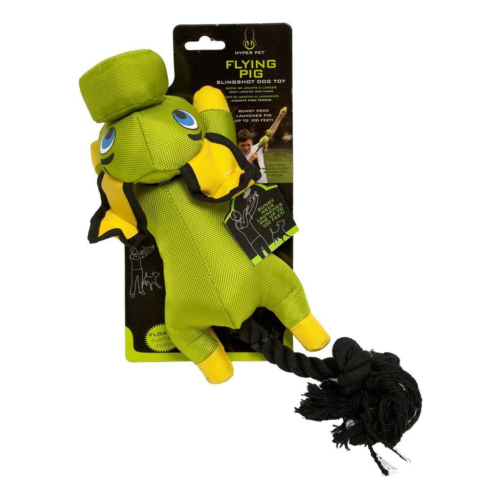 Hyper Pet Flying Pig Dog Toy Green Want To Know More Click On