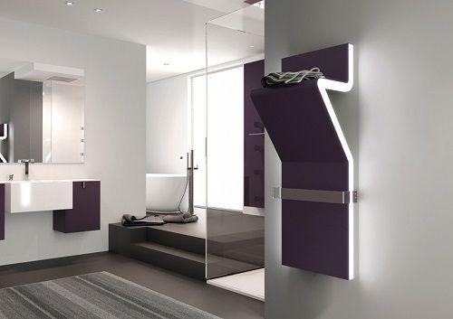 Tratto, radiateur sèche-serviettes design eau chaude, Irsap Design - puissance seche serviette salle de bain