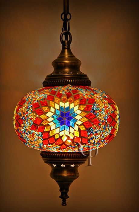 Turkish Mosaic Lamps Ottoman Chandeliers Mosaic Hanging Lamps Turkish Lamps Turkish Mosaic Lamp Mosaic Lamp
