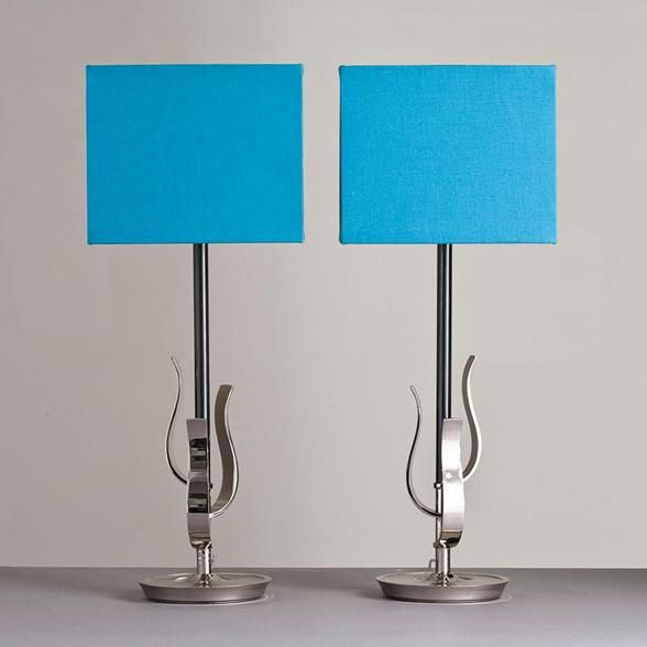 Talisman London   A Pair Of Rembrandt Lamps USA 1950s
