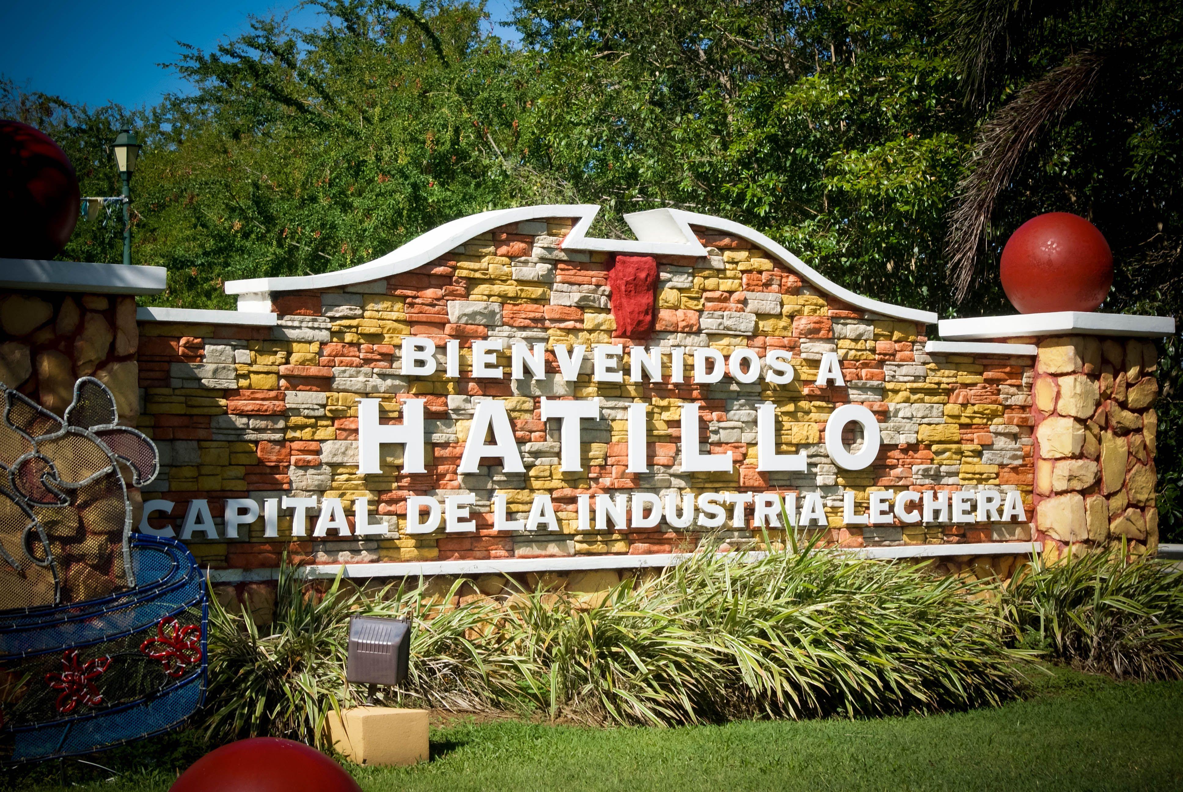 Entrada al pueblo de Hatillo