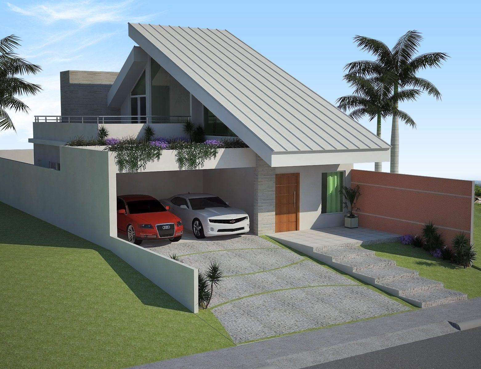Projetos de casas com mezanino gratis