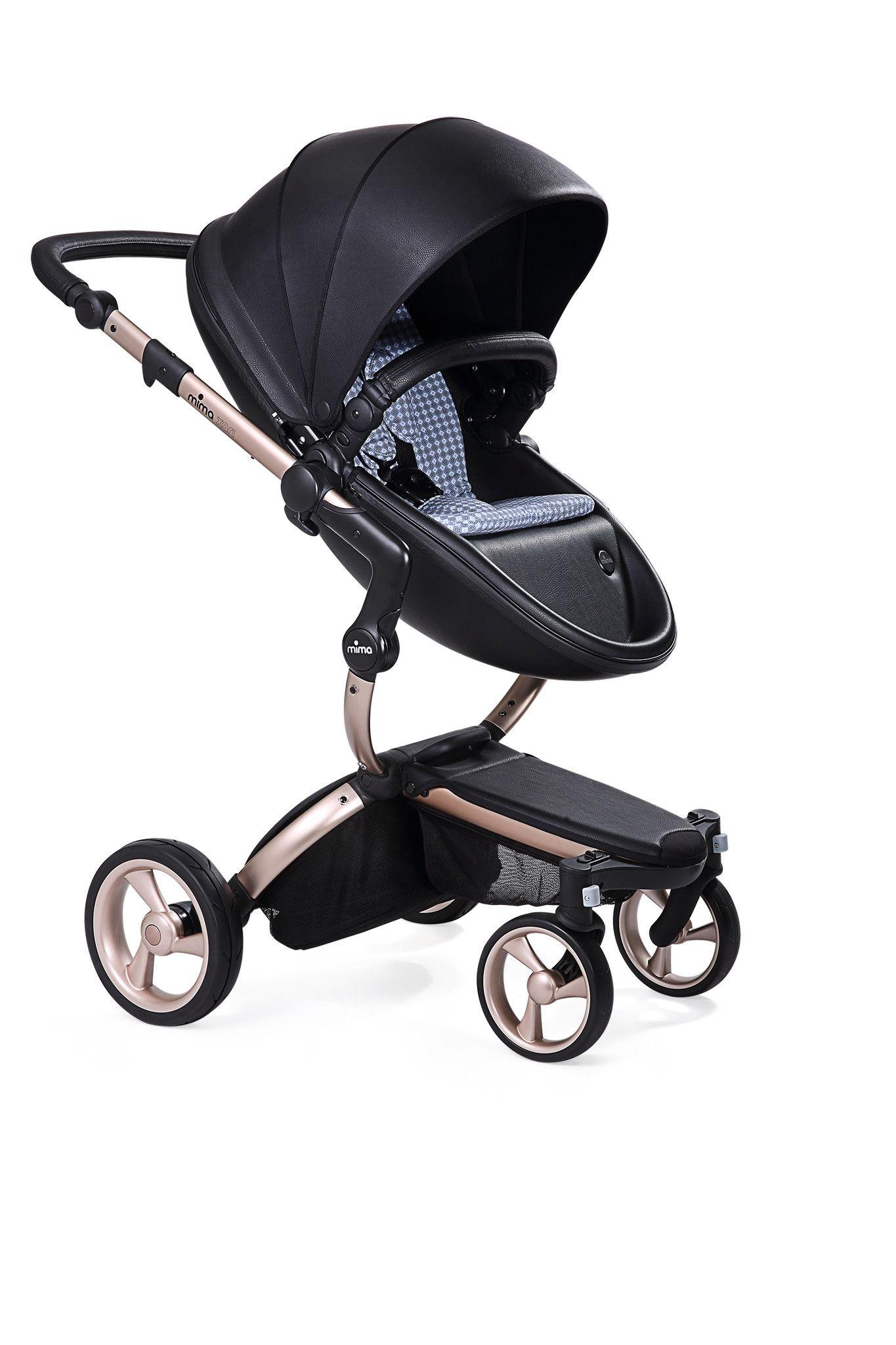 Mima Xari Black Seat, Retro Blue Starter Pack The only