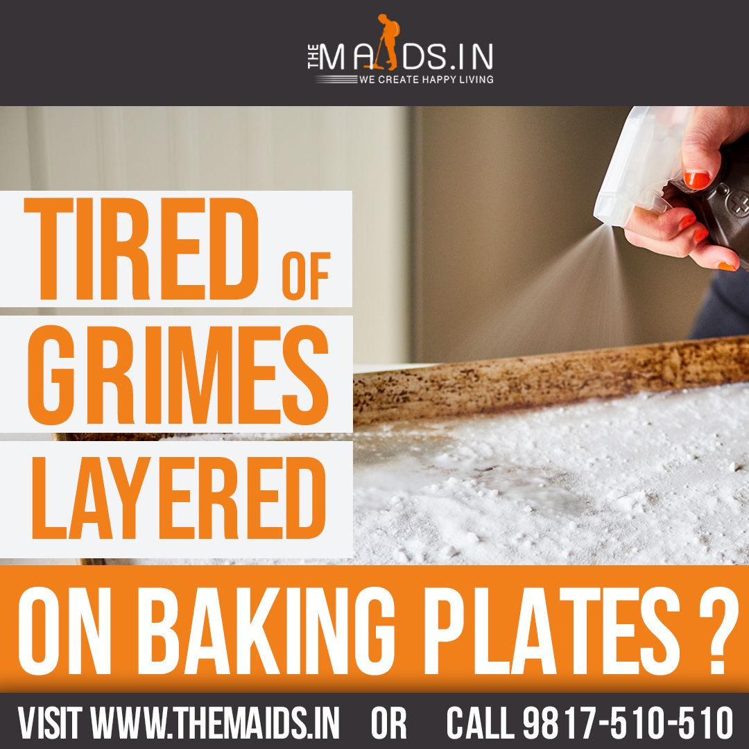 Tired of Layered Grimes on Baking Plates? in 2020 Clean