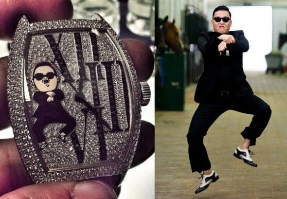 Franck Muller Creates a Gangnam Style Watch for PSY
