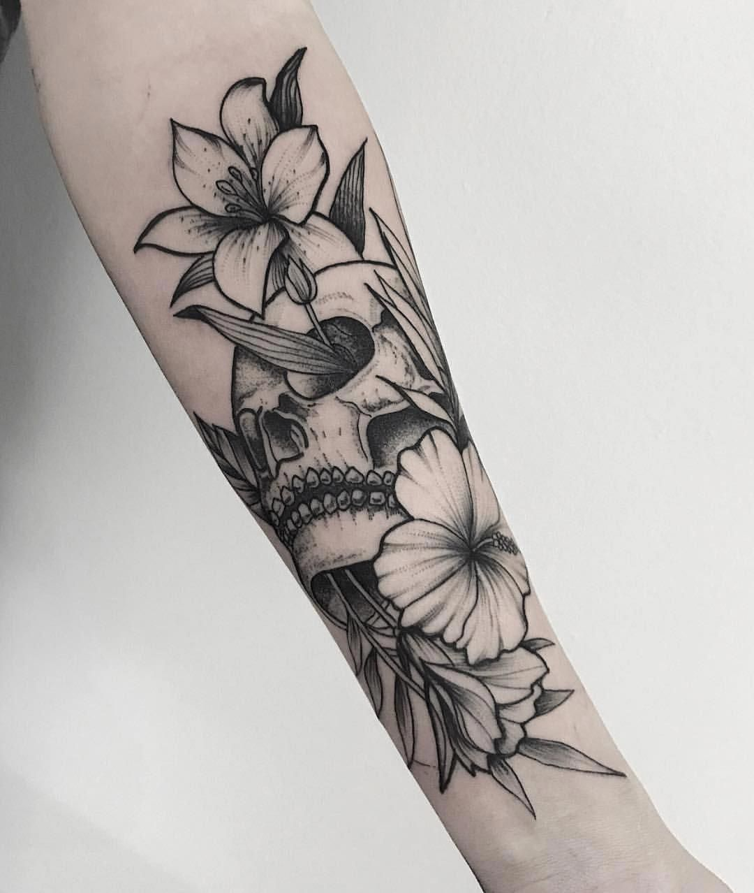 Dotwork Flower Azalea Ricardogarciatattoo Tattoosforwomen Half Sleeve Tattoos Drawings Skull Sleeve Tattoos Unique Half Sleeve Tattoos