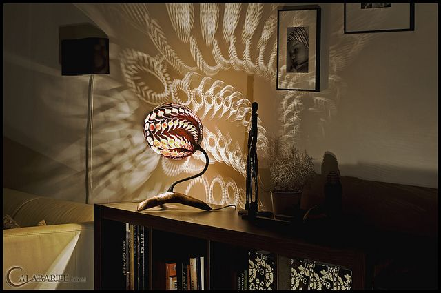 Table lamp XI – Evolution by Calabarte, via Flickr