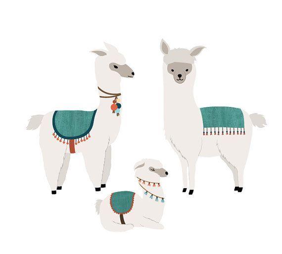 Llama Wanddekalen Llama Fabric Wanddekale in 2020