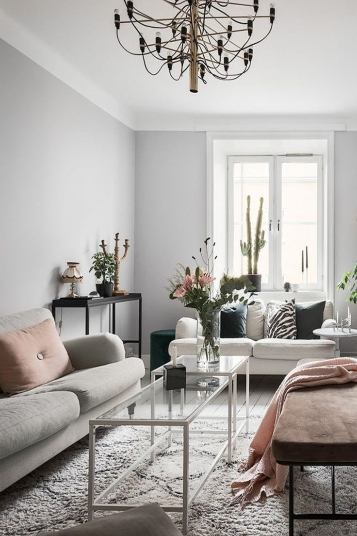 51 Scandinavian Stylish Living Room Decor Ideas