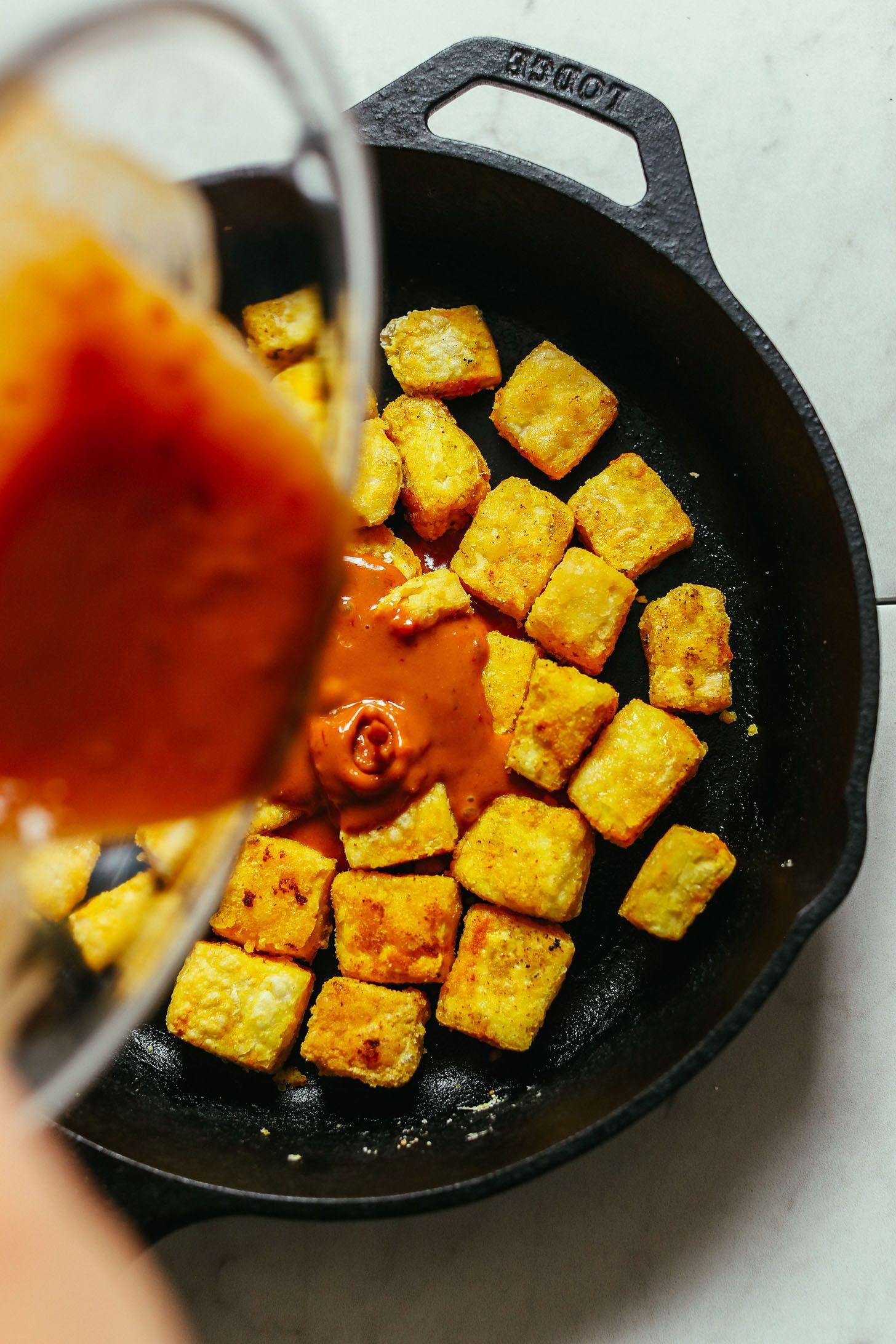 How To Make Tofu Taste Good Essen Und Trinken Essen Trinken