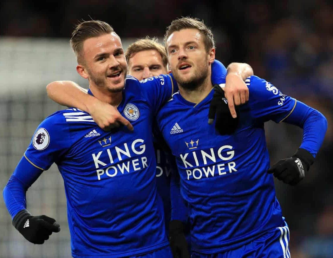 Image by Iulia M on Sports | Jamie vardy, James maddison, Premier ...