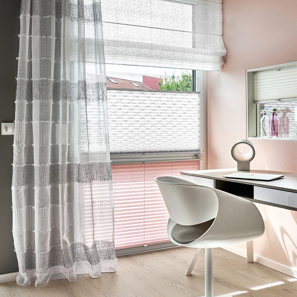 Vorhang Rollo Und Plissee Fur Ihr Schlaf Oder Arbeitszimmer Vorhange Haus Deko Gardinen