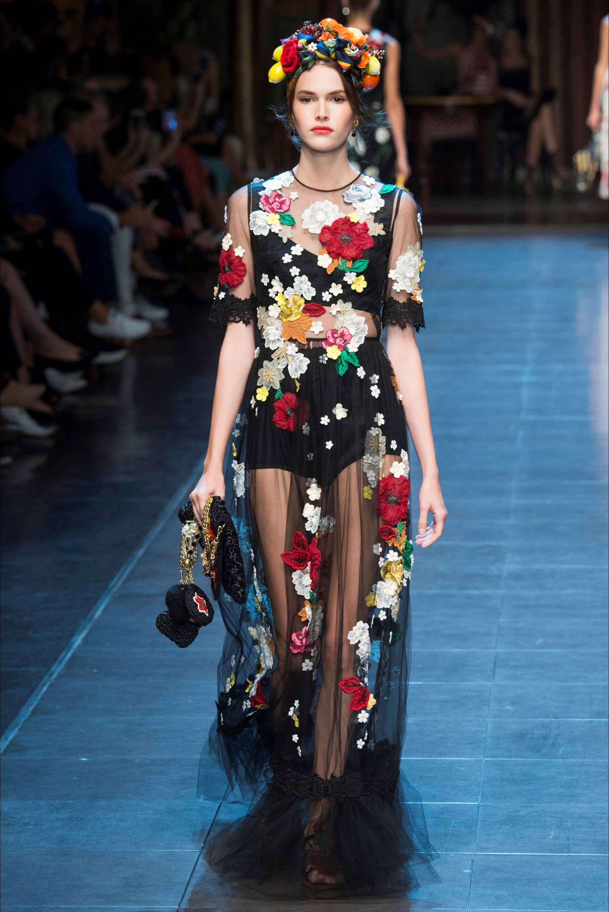 Sfilate Dolce   Gabbana Collezioni Primavera Estate 2016 - Sfilate Milano - Moda  Donna - Style.it bdac25f3d38