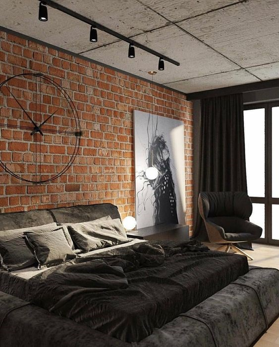 Find Out Get Tips To Apply Industrial Bedroom Interior Design 123homefurnishings Industrial Bedroom Design Industrial Decor Bedroom Industrial Home Design