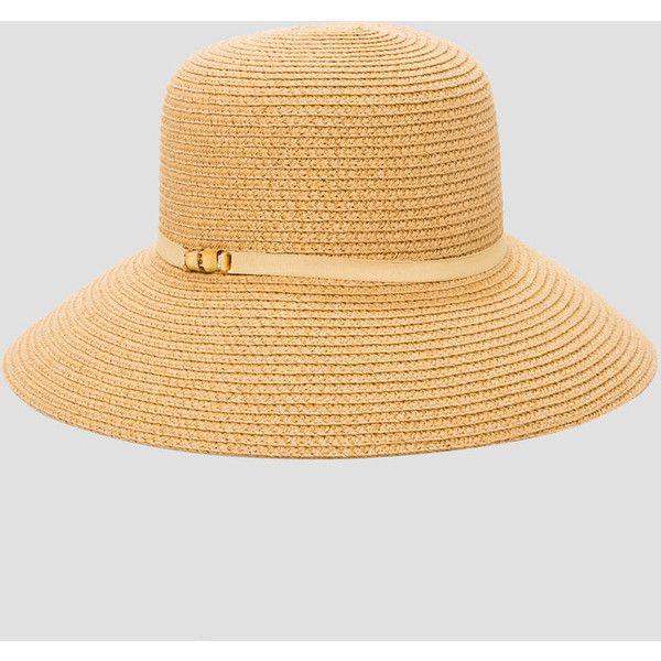 Ashley Stewart Grosgrain Band Straw Bucket Hat Straw Bucket Hat Hat Band Hats