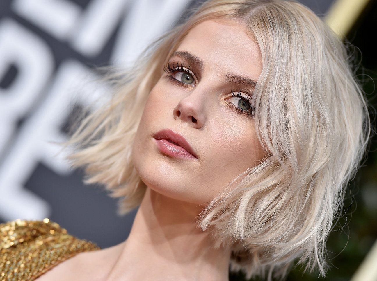 Trendfrisur Alle Tragen Jetzt Den Petit Bob Elle Trendfrisuren Bob Frisur Haare Blond Farben