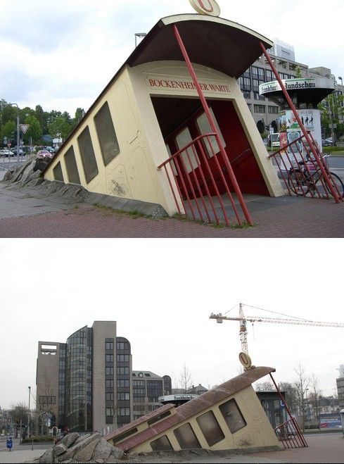 Coolest Subway Entrance in Germany!  Posted by Hila Hamidi