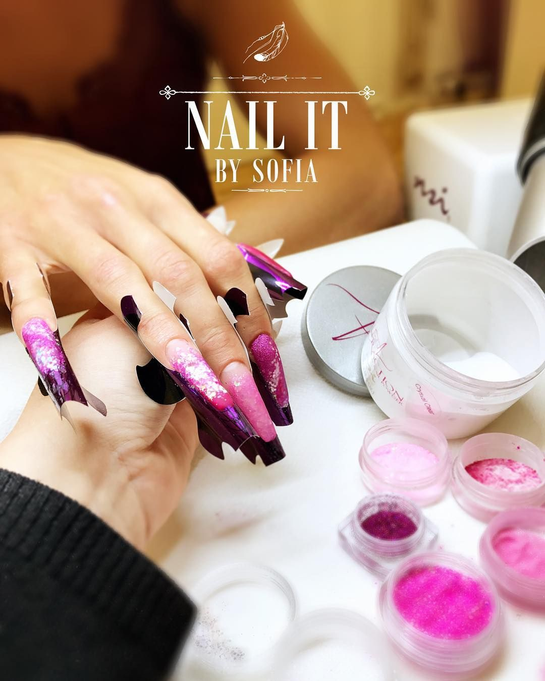 Attraction Acrylic System is the best for creating professional nail ...