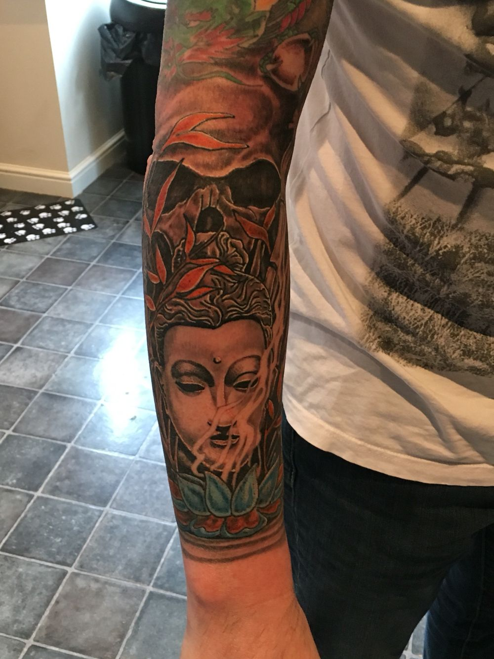 Buddha Skull Tattoo