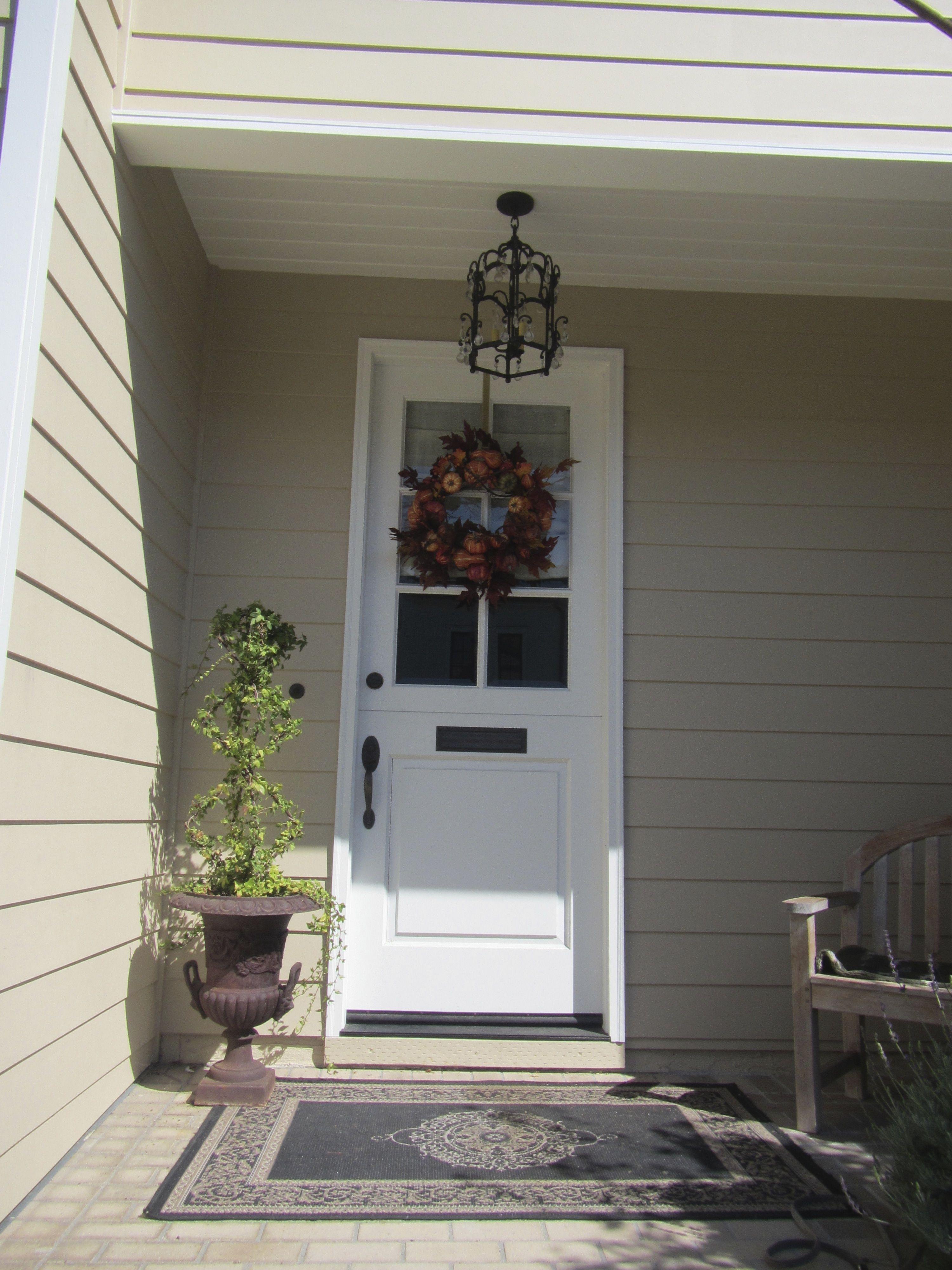 White Dutch Door